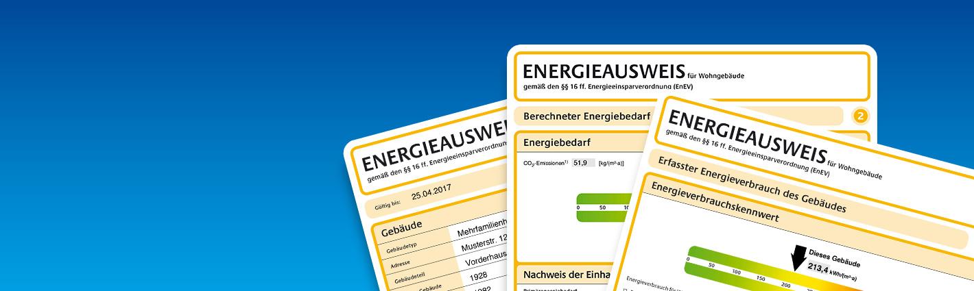 Energieausweis – Ganz einfach zum Energiepass für Ihre Immobilie