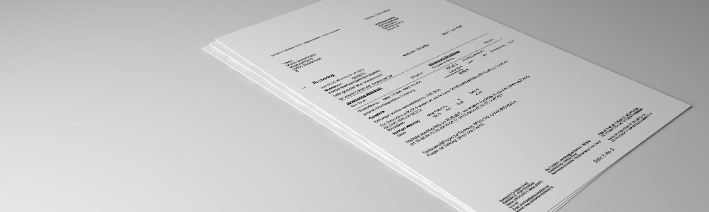 Rechnungserklärung – Häufige Fragen – schnell geklärt