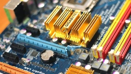 Platine eines Computers